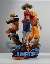 JUMP Fighting ONE PIECE Dragon Ball NARUTO Son Goku&Luffy Big Three PVC Figure