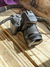 Canon EOS 250D 24,1 Mp Cámara Digital Réflex Kit con EF-S 18-55mm F/4-5,6 IS STM