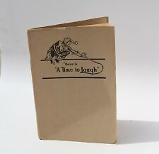 There's a Time to Laugh Humor Private Fine Press Comedy Bibliography 1951 SFPL