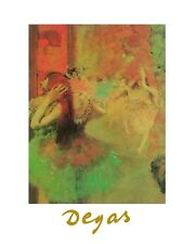 Edgar Degas Ballett Poster Kunstdruck Bild 30x24cm - Kostenloser Versand