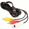 New 1.8m Cable RCA Cinch AV Audio Video for SEGA Genesis Mega Drive 2 3 #491