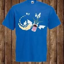 Magliette da uomo blu grafici Fruit of the Loom