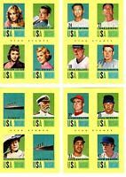 2014 PANINI GOLDEN AGE STAR STAMPS LOT OF 4 DIFFERENT CARDS