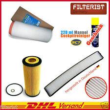 Innenraumfilter Pollenfilter BMW 3er E46 318 d Cd td + Luft- + Ölfilter+GESCHENK