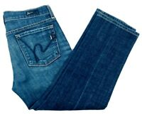 Citizens of Humanity Womens (27) Kelly#063 Low Waist Cropped Capri Jeans USA COH