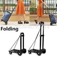 75KG Travel Trolley Folding Portable Luggage Case Suitcase Bag Foldable Shopping
