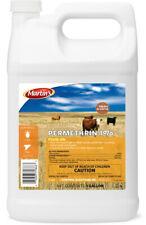 Permethrin 1% Cattle Bovine Pour On Flies Lice 1 Gallon Sheep