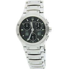 W438- Bulova Accutron Breckenridge 26B29 Men's Chronograph Wrist Watch