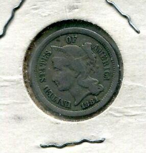 Estate Sale 1881 Three Cent Nickel 3CN