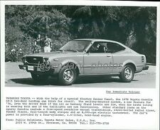 1976 Toyota Corolla SR-5 Two-Door Original News Service Photo