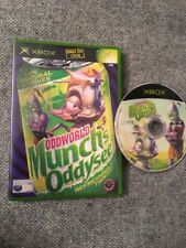 OddWorld Munch's Oddysee Rare Xbox Original Game Odd World