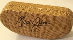 Maui Jim sunglasses case holder leather style excellent condition