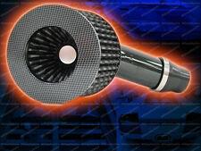 """Carbon Fiber 70mm 2.75"""" Inch Diameter Short Air Intake + Universal Adapter Kit"""