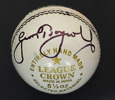 GEOFFREY BOYCOTT In Person Signed CRICKET BALL Photo Proof COA
