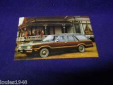 1980 Ford FAIRMONT STATION WAGON Dealer promotional post card ORIGINAL LONG ROOF