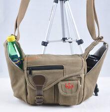 canvas Camera bag case for Nikon D7200 D600 D7000 D7100 D3200 D5200 D750 D5500