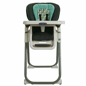 Graco High Chair: Botany Collection   Tablefit   Green/Teal