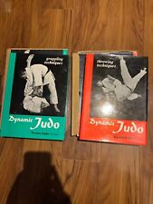 Kazuzo Kudo Dynamic Judo Grappling Throwng Techniques slipcases HARDCOVER BIBLE