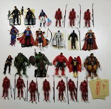 Marvel Universe Legends Lot Hand Ninja Moon Knight Taskmaster Red Hulk Mint