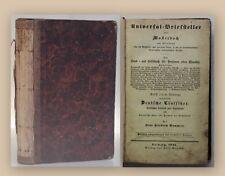 Rammler Universal Briefsteller Musterbuch 1844 Briefe Dokumente schreiben  xy