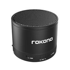 Rokono BASS+ (KB950) Mini Wireless Bluetooth Speaker for iPhone/Samsung - Black