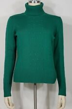 NWT Ann Taylor green 100% Merino wool turtleneck sweater ladies womens Medium