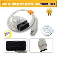 MINI VCI J2534 toyota tis techstream OEM For Toyota Diagnostic Cable Instrument