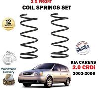 FOR KIA CARENS 2.0 CRDi MPV 2002-2006 NEW 2 X FRONT COIL SPRINGS SET