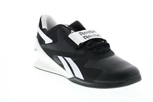 Reebok Legacy Lifter II FU9459 Mens Black Athletic Weightlifting Shoes