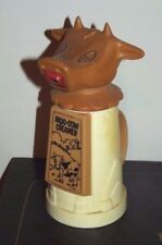 Vintage Whirley Moo Cow Creamer Plastic Milk Cream Dispenser Pitcher
