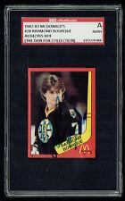 Raymond Bourque #28 signed autograph auto 1982-83 McDonald's Card SGC Authentic