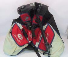 Dacor Chameleon B C Buoyancy Diving Jacket Vest Red Gray