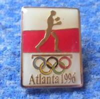 NOC POLAND OLYMPIC ATLANTA 1996 BOXING PIN BADGE