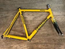 Cannondale R2000 Si Caad 5 Road Bike Frameset w/ Slice Fork 56cm Yellow USA