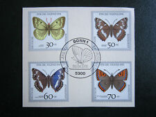 Ersttagsblatt, BRD 1991, gefährdete Schmetterlinge