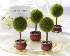 4pz Segnaposto Segnatavolo foglietto incluso bomboniera giardino matrimonio