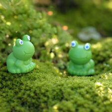 Hot 5Pcs Lovely Blue Eyes Frog Animal Miniature Garden Home Decoration DIY Decor