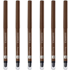 (6 Pack) NEW Rimmel Exaggerate Eye Definer Rich Brown 0.01 Ounces