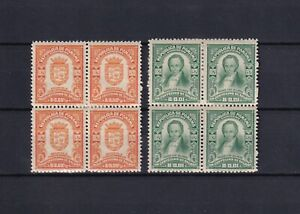 PANAMA 1921, Sc#220-221, block of 4, historical persons, MH