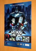 Batman Vengeance GameCube PS2 Xbox 360 Advertising Poster Promo AD Art Print