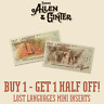 2019 Topps Allen & Ginter LOST LANGUAGES MINI - YOU PICK - BUY 1 GET 1 50% OFF