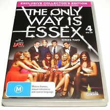 DVD, The Only Way Is Essex Series Two (Collector's Edition), 4 Disc, R4