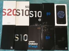 10 x Phone Boxes and 7 Samsung S9 cases - APPLE SAMSUNG - JOBLOT