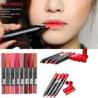 Sexy 19 Colors Makeup Beauty Waterproof Lip Pencil Lipstick Lip Gloss Lip Pen