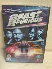 2 Fast 2 Furious DVD 2013 - Paul Walker - Tyrese - Eva Mendes - New & Sealed