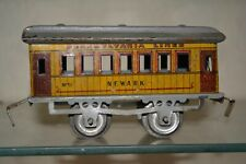 Ives Lionel Early Tin Toy O Gauge Train #51 Newark Passenger Car