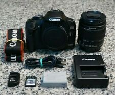 Canon EOS Rebel T1i 500D 15.1MP HD 720p DSLR Camera W/ 18-55mm Lens Tested FR/SH
