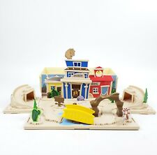 RARE Disney Pixar TOY STORY Old West Wagon Fold-Out Playset Incomplete