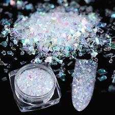 0.7g Nail Art Sequins Flakes Irregular Paillette Glitter Foil Paper Manicure DIY