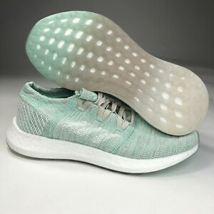 New Adidas PureBoost Go Running Shoes Clear Mint White B75827 Women Size 8.5-9.5